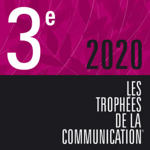 lauréat au trophées de la communication